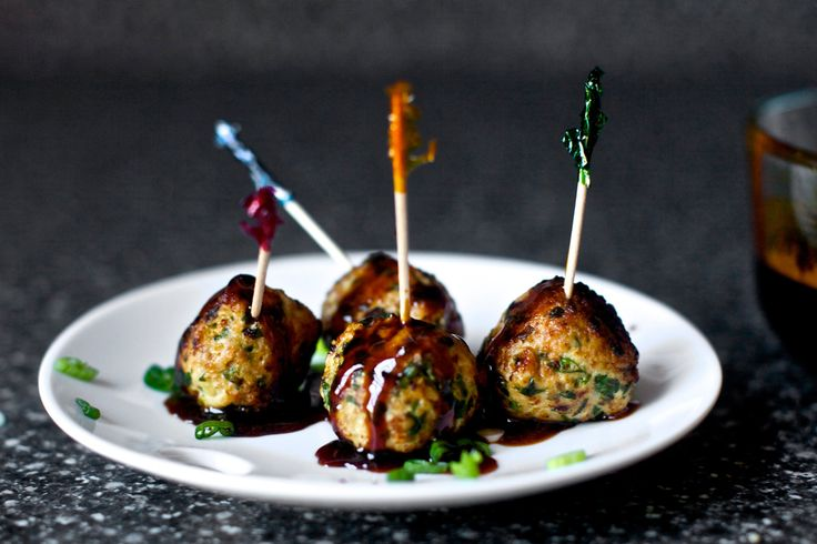 scallion meatballs with soy-ginger glaze – smitten kitchen