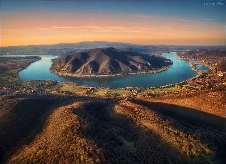 Olyan gyönyörű fotót lőttek a Dunakanyarról, hogy percek óta megigézve nézzük | Az online férfimagazin
