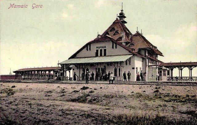 Mamaia - Gara - 1906