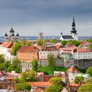 Tallinn is the capital of the smallest of the Baltic countries. Estonia.