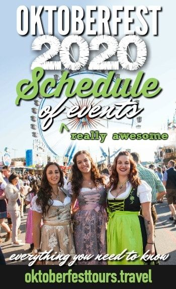 Oktoberfest 2020 Schedule of (Really Awesome) Events