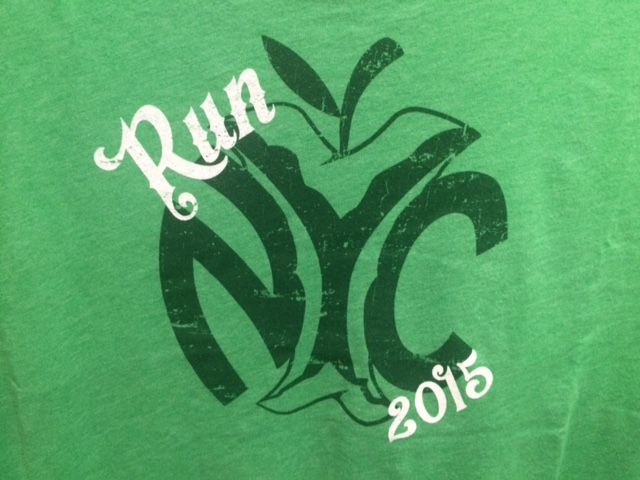 Some of the best New York City Marathon shirts seen at the expo.