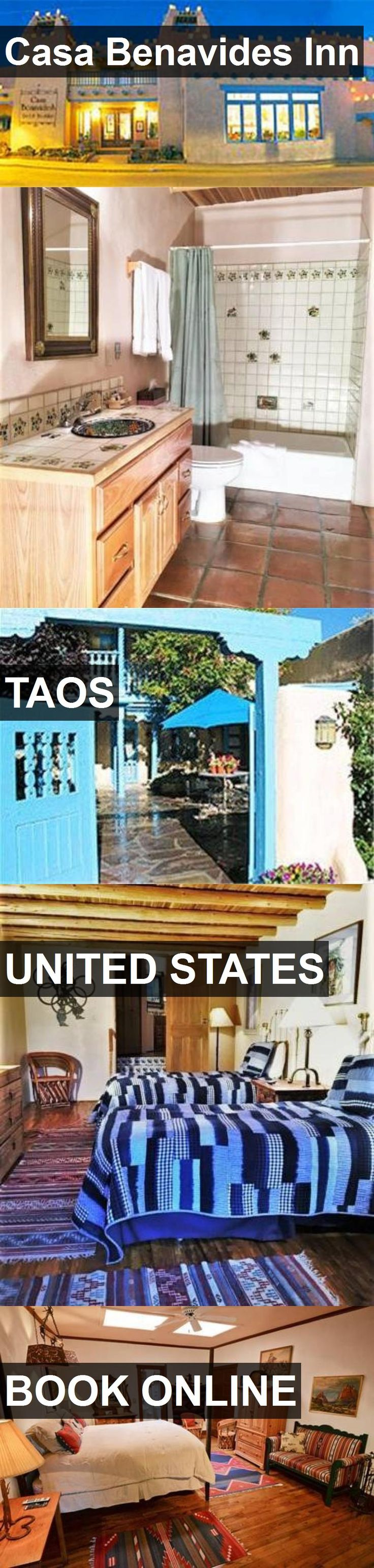 Hotel Casa Benavides Inn in Taos, United States. For more information, photos, reviews and best prices please follow the link. #UnitedStates #Taos #CasaBenavidesInn #hotel #travel #vacation