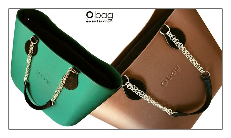 OBag smaragd&bronzo