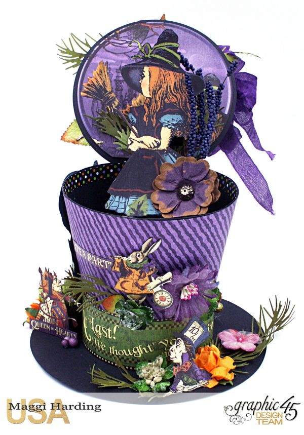 Hat, Hallowe'en in Wonderland, Maggi Harding, Graphic 45 (11)
