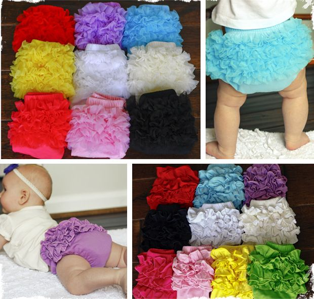 Ruffled Cotton Bloomers -