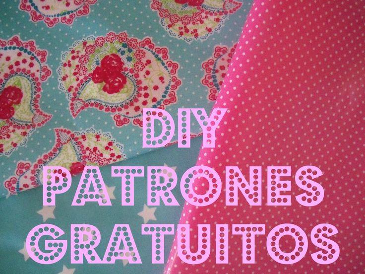 diy patrones gratuitos free patterns de ropa accesorios etc..