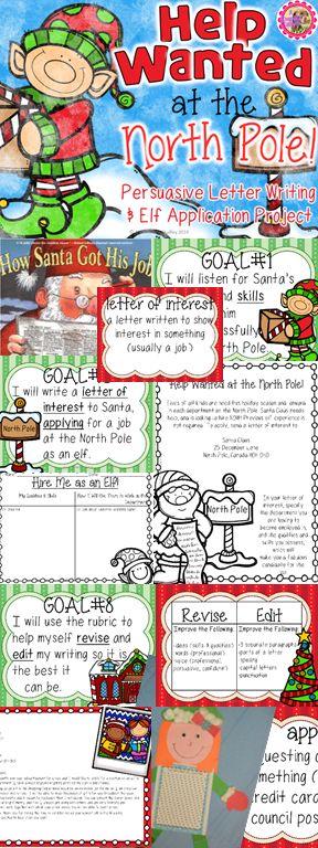 HO HO HO! Santa needs extra ELVES on staff! Elf Application Creative Writing Project & Craft. Christmas Persuasive Writing. Grades 3-6