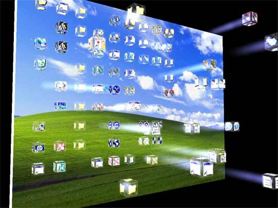 Windows Moving Screensavers Free Download | Icons Screensaver 1.1 ...
