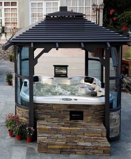 Hot Tub Gazebo | Hot Tub and Gazebo