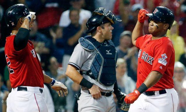 Informe: Los Medias Rojas De Utilizar El Smartwatch Para Robar Señales En Contra De Los Yankees