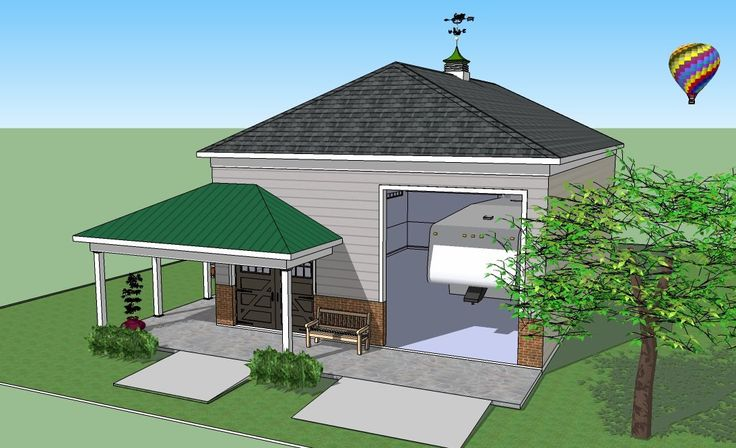 Metal Garage With Porch Plans Steel On The Porch