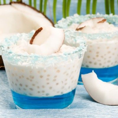 Coconut Tapioca Pudding With Smoked Sesame Seeds Recipe — Dishmaps