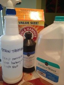 DIY household cleaning products