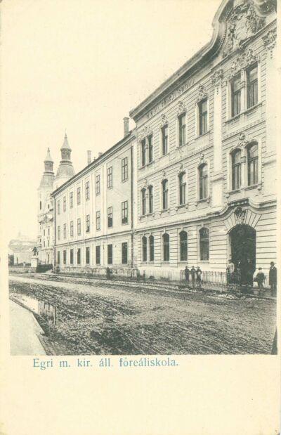 Egri m. kir. áll. főreáliskola