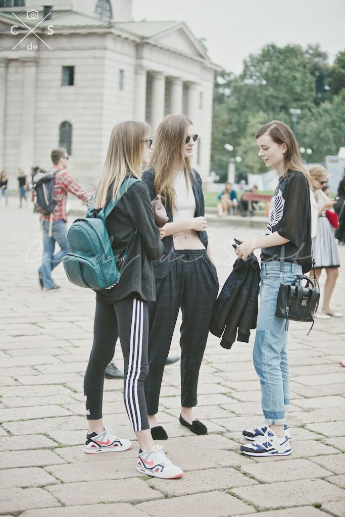 Milan Fashion Week 2015 S/S Street Style :Day 2 #model #offduty