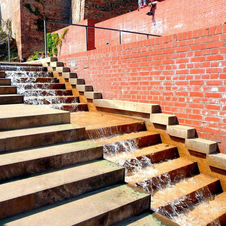 Vodní schody pod Petrovem