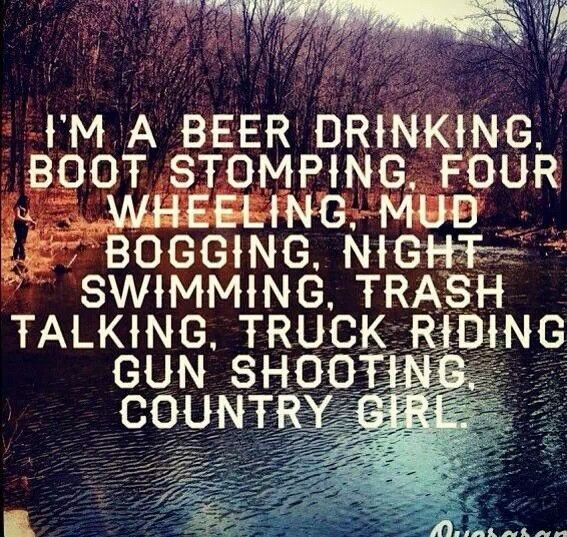 Change that to whiskey and then it's right : ) | Country, Camo