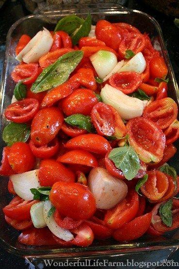 Wonderful Life Farm: Easy Homemade Spaghetti Sauce from Homegrown Tomatoes.  No blanching.  No peeling.