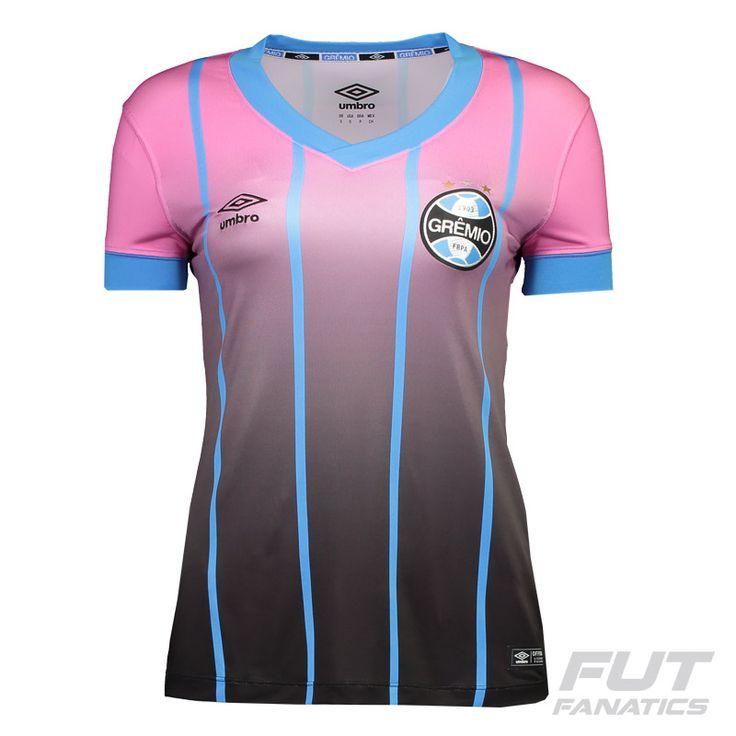 Camisa Umbro Grêmio III 2016 Feminina Outubro Rosa Somente na FutFanatics você compra agora Camisa Umbro Grêmio III 2016 Feminina Outubro Rosa por apenas R$ 199.90. Grêmio. Por apenas 199.90