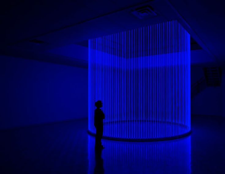 "Artist Erwin Redl creates large-scale LED installations and environments to investigate questions of phenomenology and perception in the age of the digital experience. He uses a metaphorical ""reverse engineering"" to re-translate the abstract aesthetic language of Virtual Reality and 3D computer modeling into powerful light-based architectural environments that can often quite literally destabilize the viewer's perception of space. http://www.location1.org/imho-with-erwin-redl/"