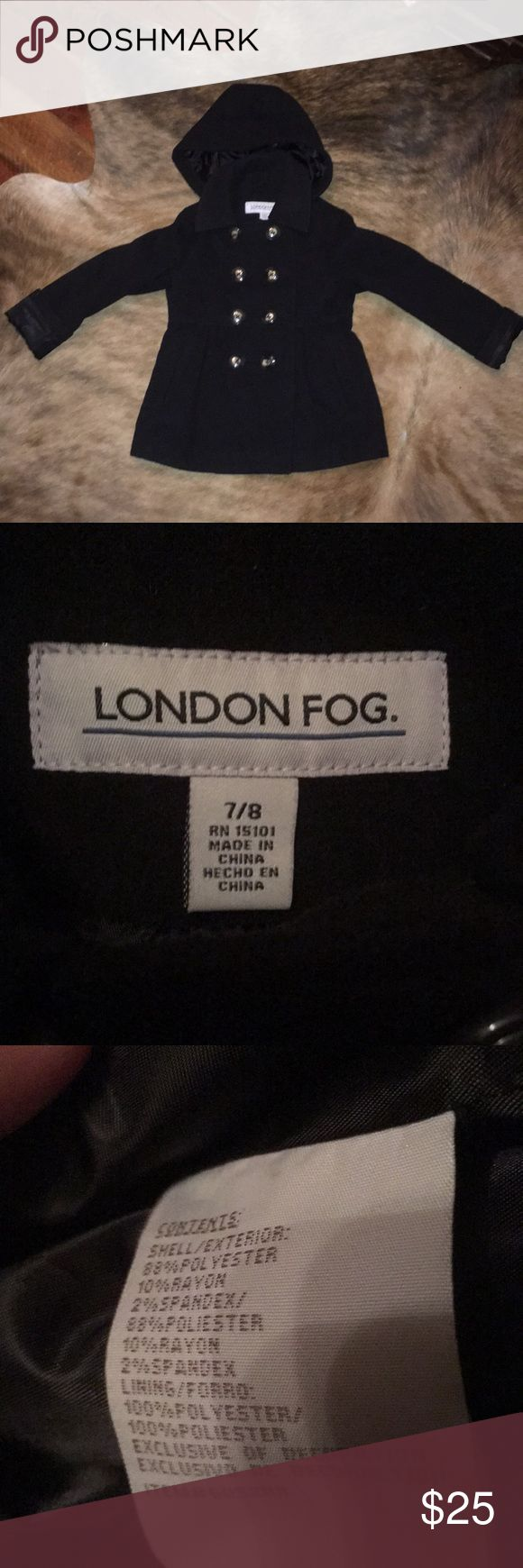 London Fog Girls Peacoat, 7/8 Used but in great condition! London Fog Jackets & Coats Pea Coats