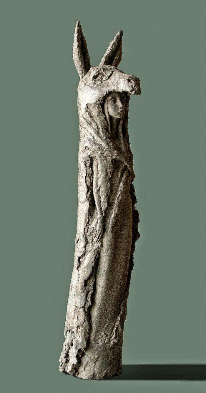 Art fairs mechanical movement metal paris russia sculptures wood - Valerie Hadida Clay Sculptureswood