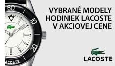 Vybrané modely hodiniek Lacoste v akciových cenách.  http://www.1010.sk/tag/akcia-lacoste/