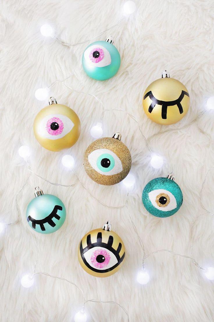 DIY eye ornaments