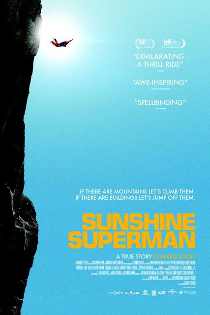 A heart-racing documentary portrait of Carl Boenish, the father of the BASE jumping movement, whose early passion for skydiving led him to ever more spectacular -and dangerous- feats of foot-launched human flight. Movie Details Movie Name: Sunshine Superman (2014) Movie Size : 809 MB Movie Quality: 720p HD Movie Format: MP4 Running Time: 105 Minutes Movie Type: Biography, Documentary, Sport