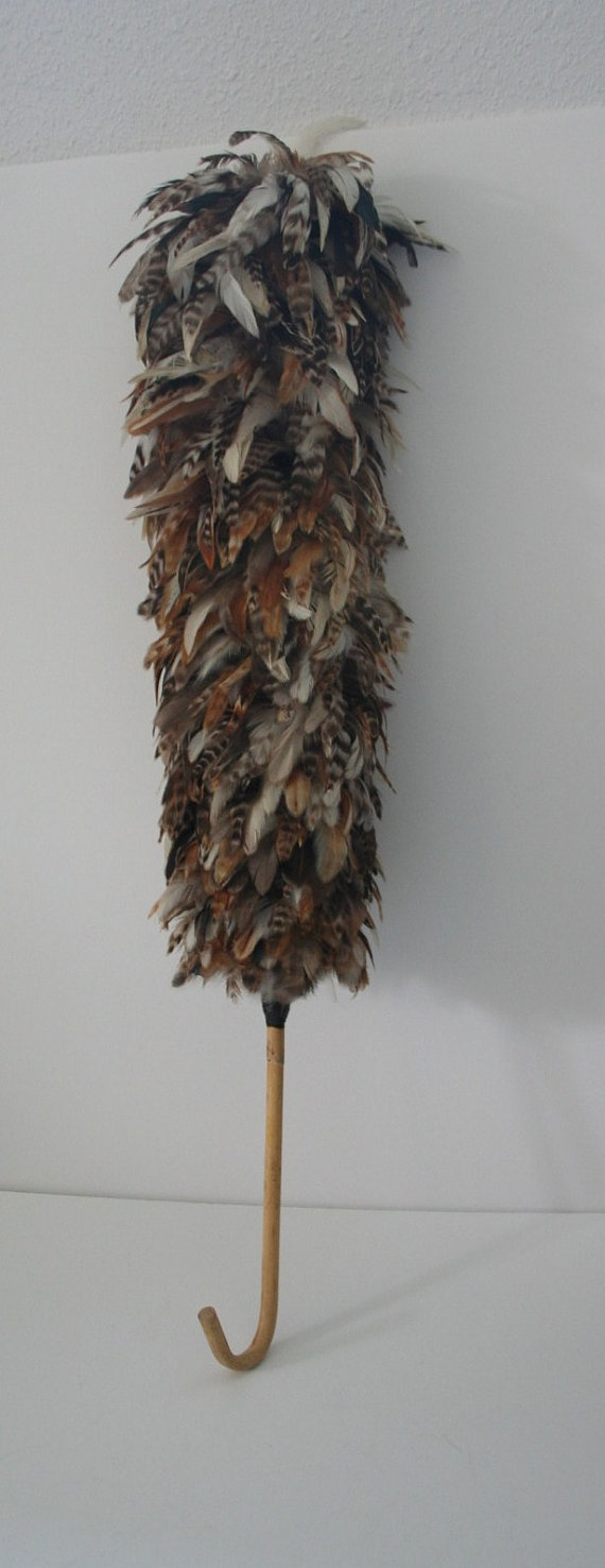 vintage feather duster by yosalvovendo on Etsy, $38.00