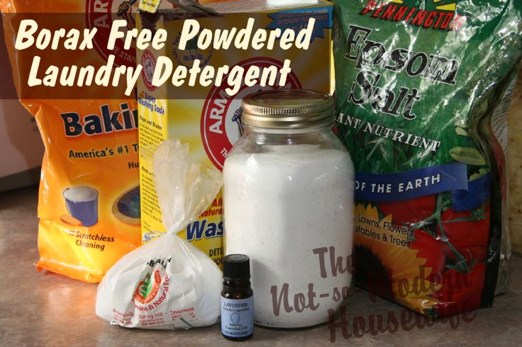 I've been searching for a powdered laundry detergent that's safe for cloth diapers. I had several requests from readers for a borax-free laundry detergent.