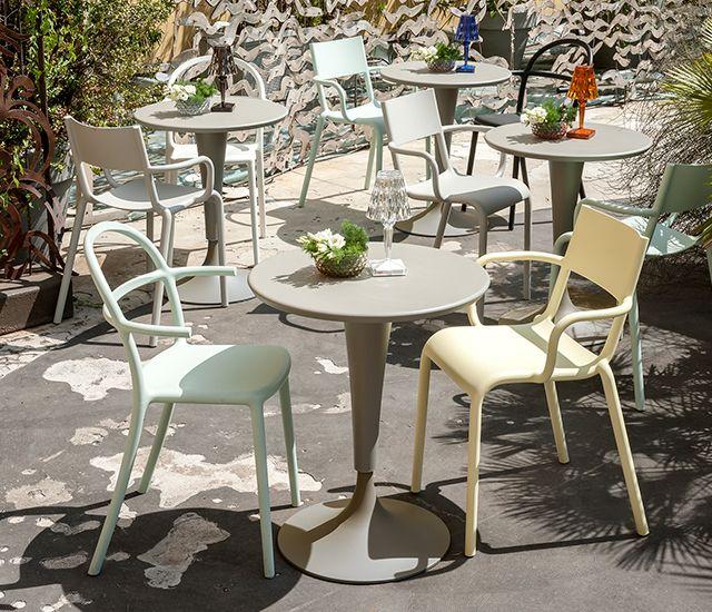 Kartell Eetkamer Stoel.Seating Shop Online At Kartell Com Outdoor Furniture Sets