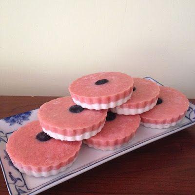 Sütés nélküli rebarbarás epres kókuszkorong (paleo) ~ Éhezésmentes Karcsúság Szafival