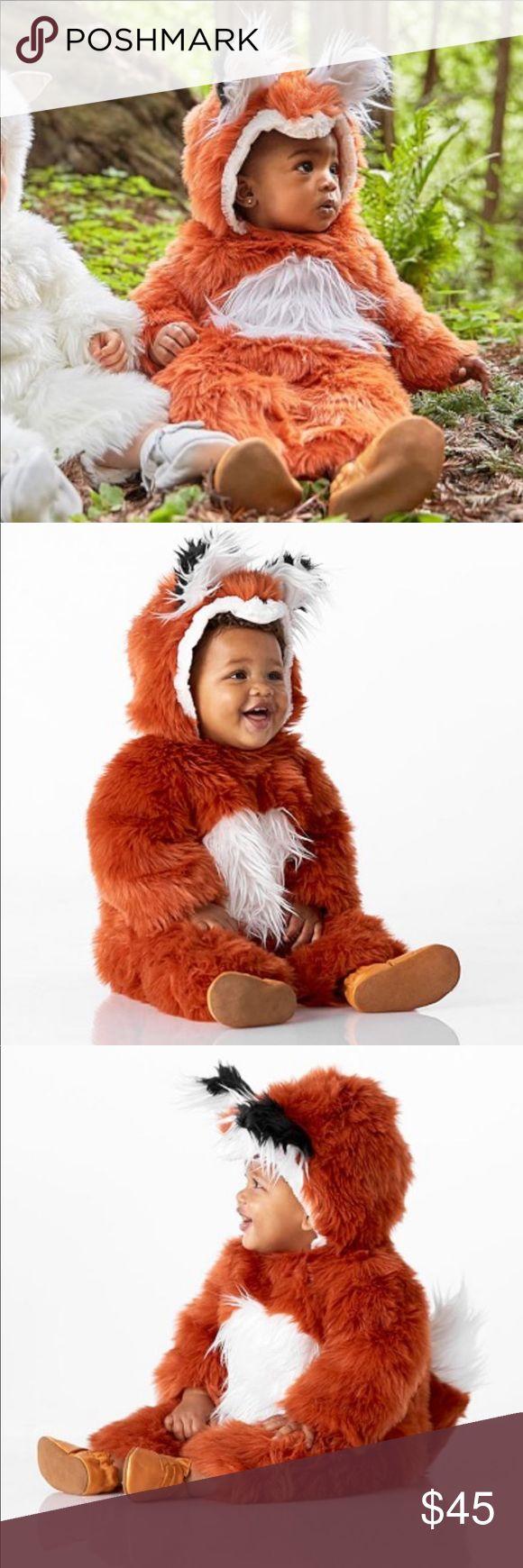 Pottery Barn Kids Fluffy Baby Fox 🦊 Halloween 🎃Pottery