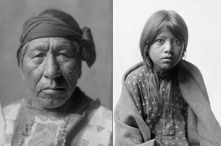 "Native Americans: Portraits From a Century Ago. The article claims that these photos taken around 1900 depict   Native Americas ""still untouched by Western society"" which is crazy-talk,  but the pictures themselves are fascinating and beautiful."