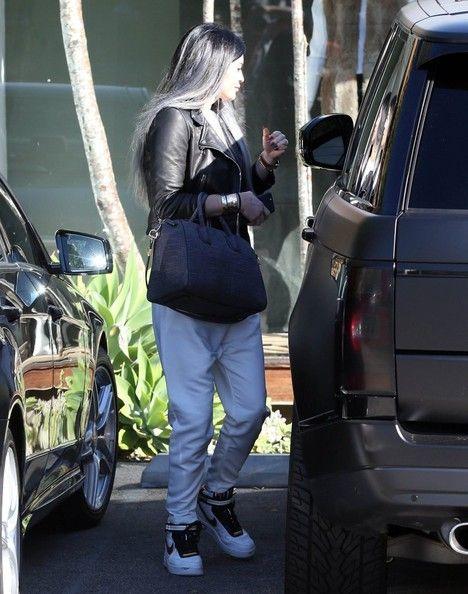 Kylie Jenner Photos: Kylie Jenner Visits the Andy Lecompte salon