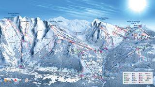 Plan des pistes La Clusaz. http://www.laclusaz.com
