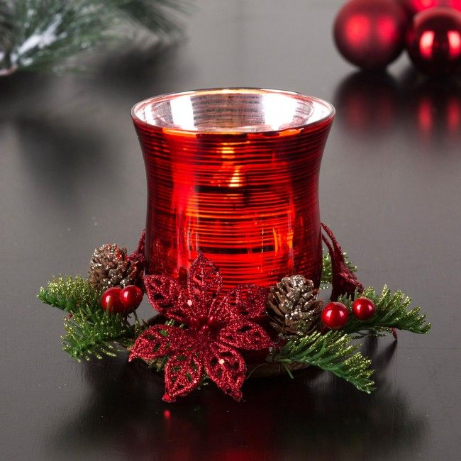 Our Christmas Votive Candle Holders will brighten up your decor this season.
