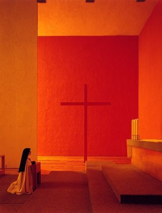 Luis Barragan, Chapel for the Capuchinhas Sacramentarias del Purisimo Corazón de Maria and Convent Restoration  1952-1955