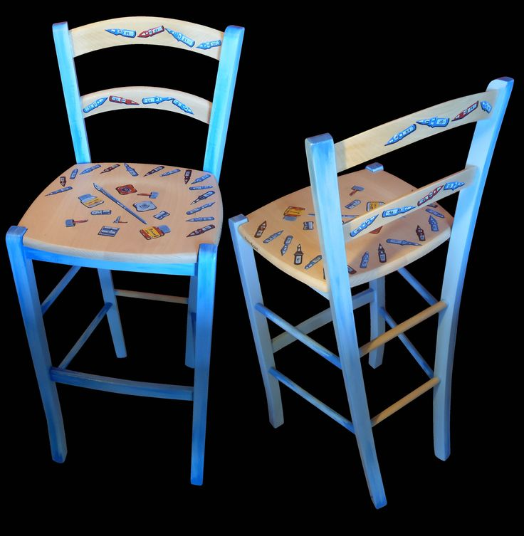 Oltre 25 fantastiche idee su sedie decorate su pinterest for Sedie decorate a mano