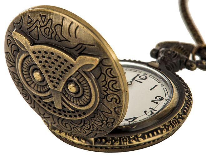 Zegarek na szyję lub kieszonkowy styl Steampunk