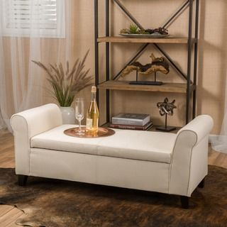 Christopher Knight Home Hastings Tufted Fabric Storage Ottoman Bench - 18443572 - Overstock.com Shopping - Great Deals on Christopher Knight Home Ottomans