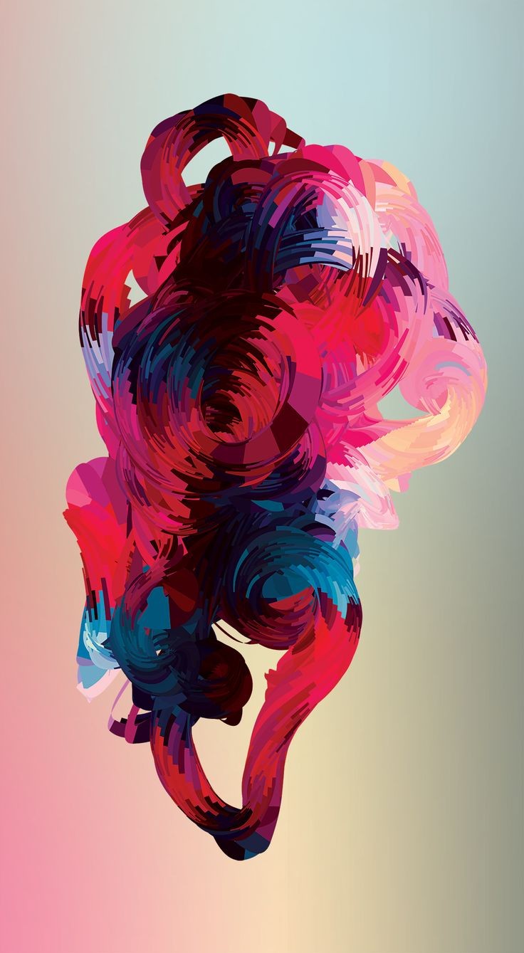 Stunning colour and form manipulation. Reminds me of the Adobe software cover designs.