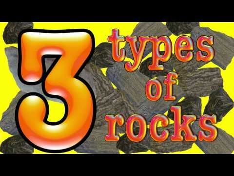 3 types of rock- a science song - YouTube - 2-minute video of the types of rock put to song