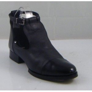 Famous Name Black KATZ Cut Out Strap Shoes, Size 4. In Store £52