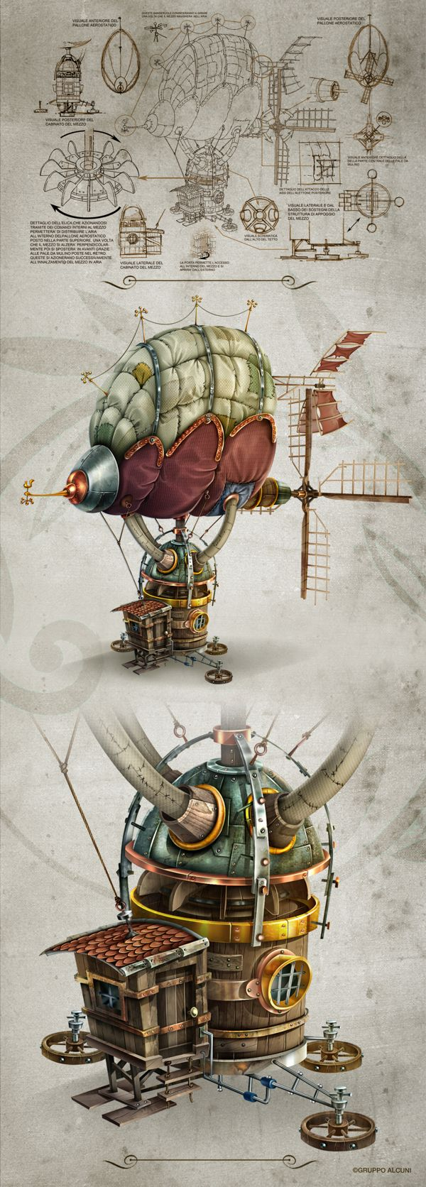 Props by Giovanni Maisto, via Behance