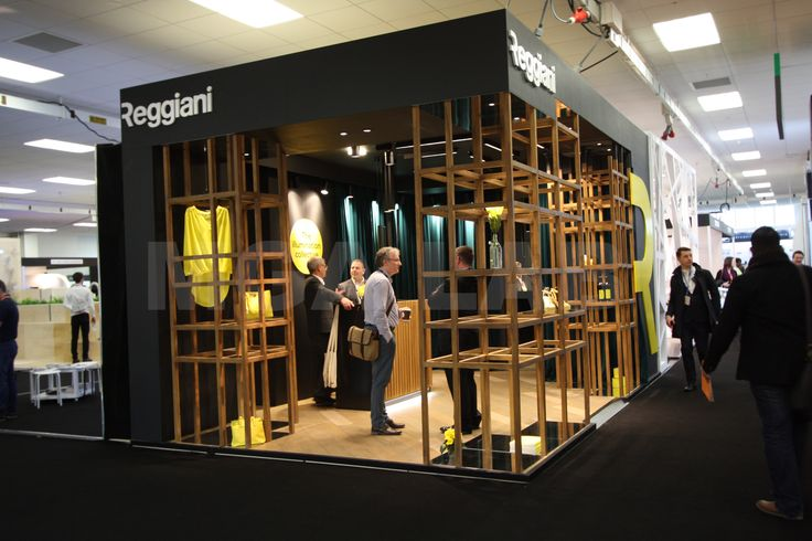 Reggiani's stand at Retail Design Expo 2016 - London