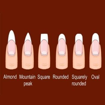 "I'd have mine in the ""almond"" shape if I had the patience to grow them long enough to do that ^_^"