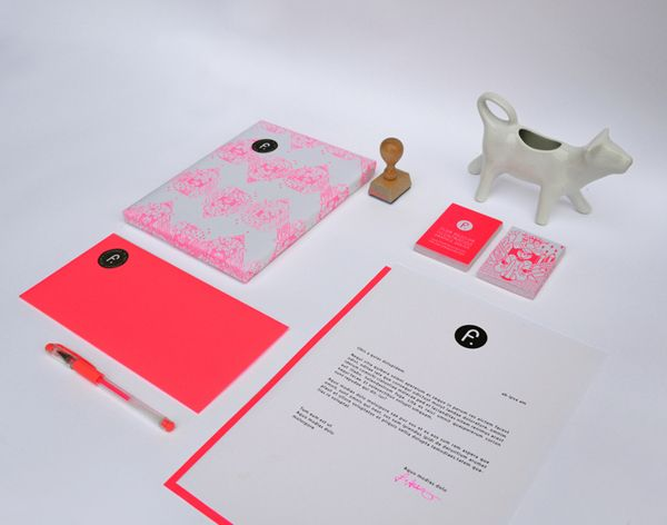 Personal Identity by Flor Aguilar, via Behance